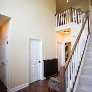 custom home foyer