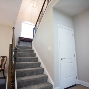 new construction stairway