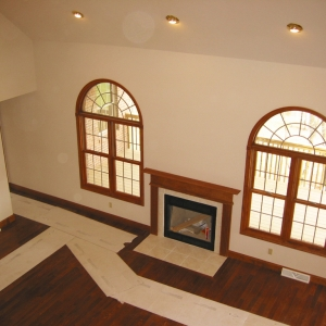 new construction great room