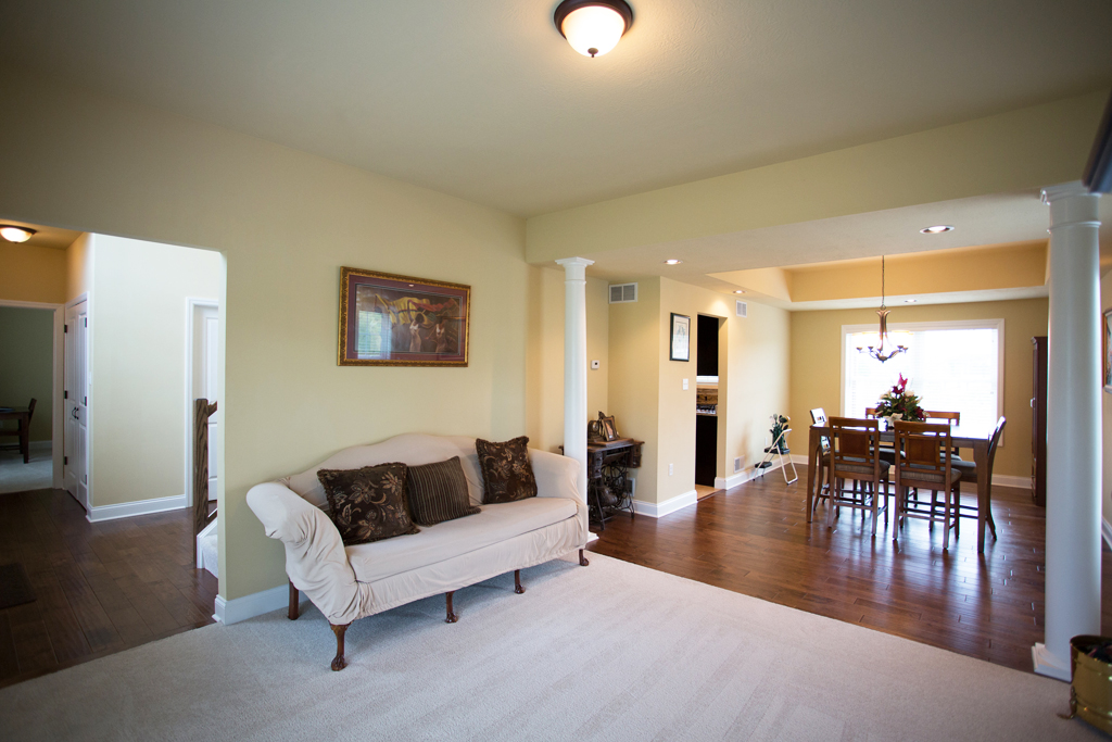 Living Room and Great Room Options in Your Custom Home