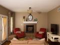 custom built living room in Pittsburgh, PA