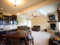 Pittsburgh custom home family room