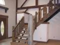 custom home stairway