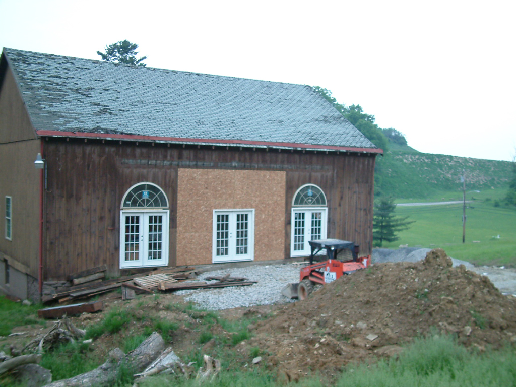 Pittsburgh barn renovation lad construction company for Renovating a barn into a house