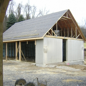 Barn Renovation Progress