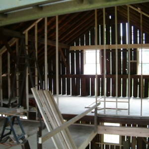 Barn Renovation Interior