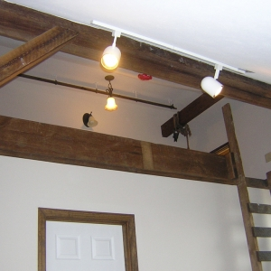 Interior of Barn Renovation Project