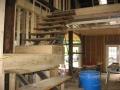 Barn Renovation interior stairway