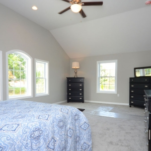 Ashley Ridge Model Home Master Bedroom