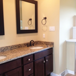 home builder master bathroom