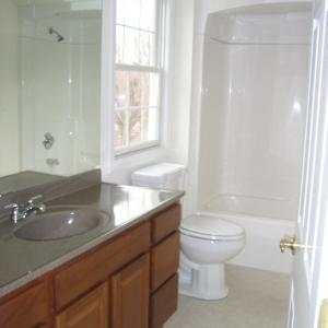 new home bathroom