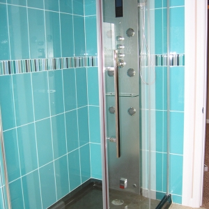modern home custom shower