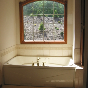 new home master tub