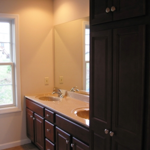 custom builder bathroom