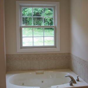 new build master bath