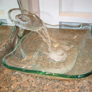 custom bathroom sink