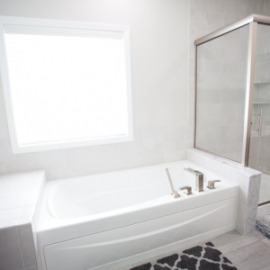 new master bathroom tub