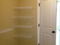 home builder custom closet