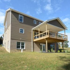 New Model Home Exterior