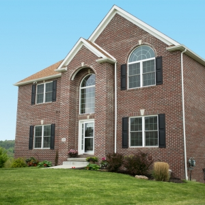 custom built home in Western, PA