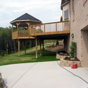 home exterior with deck