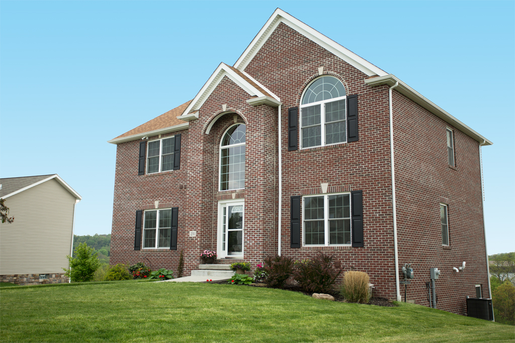 Pittsburgh Custom Homes Exterior Elevations