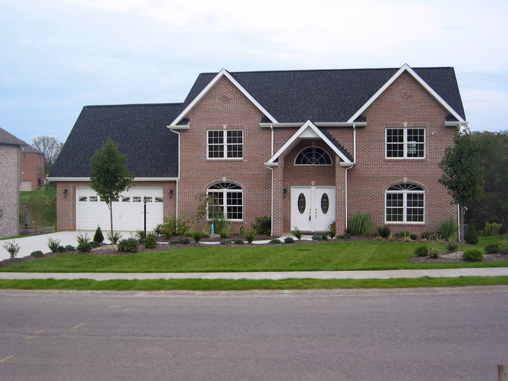Unique House Front Elevation : Pittsburgh custom homes exterior elevations