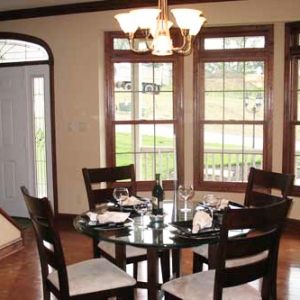 new construction dining room