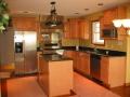 new kitchen in custom home
