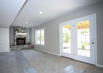 Beaver, PA Model Home Finished Basement