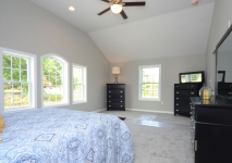 Ashley Ridge Model Home Master Bedroom
