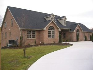 New Custom Home exterior